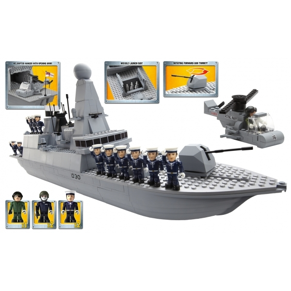 Character Building H M  Armed Forces Royal Navy Type 45 Destroyer