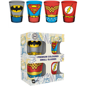 DC Comics Costumes Coloured Glass Shot Glasses