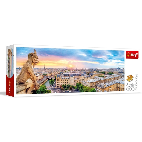 Panorama View from the Cathedral Jigsaw Puzzle - 1000 Pieces