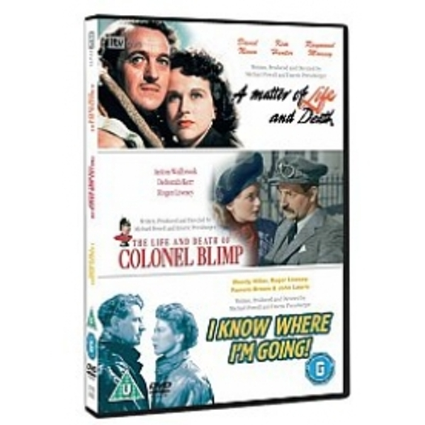 Classic Films Triple - The Life And Death of Colonel Blimp/A Matter Of Life And Death/I Know DVD
