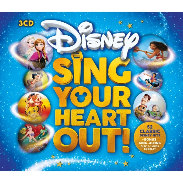 Sing Your Heart Out! Disney CD