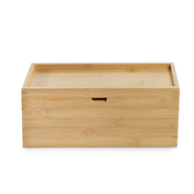 Bamboo Storage Box with Lid | M&W