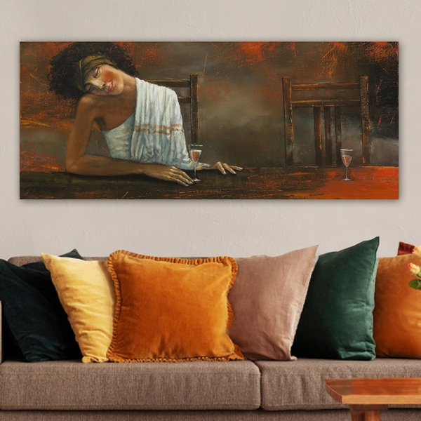 YTY61598020_50120 Multicolor Decorative Canvas Painting