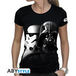 Star Wars - Vador-Troopers Women's Large T-Shirt - Black - Image 2