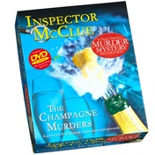 Ex-Display Inspector McClue The Champagne Murders Murder Mystery Dinner Party Board Game Used - Like New