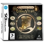 Professor Layton And The Curious Village Game DS