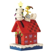 Merry And Bright (Snoopy and Woodstock) Figurine