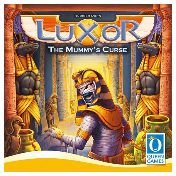 Luxor: The Mummy's Curse Board Game