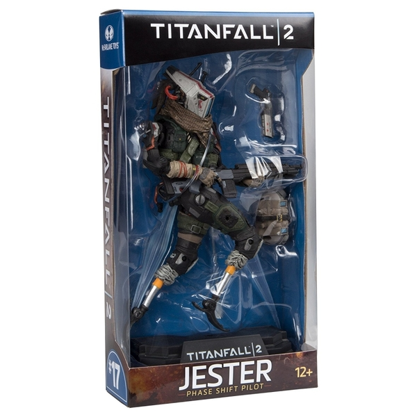 Green Titanfall 2 Jester 7 inch Collectible Action Figure - Image 3