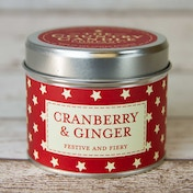 Cranberry & Ginger (Superstars Collection) Tin Candle