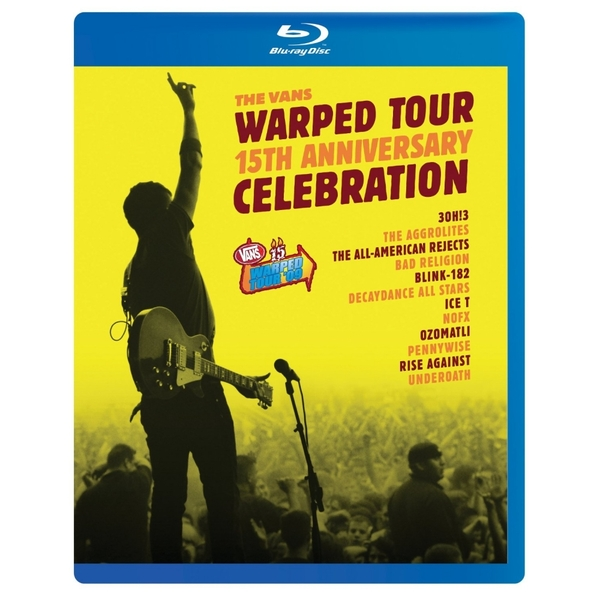 Vans Warped Tour 15th Anniversary Celebration Blu-ray