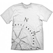 Uncharted 4 Compass T-shirt White Large