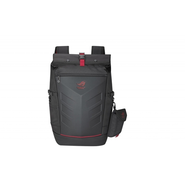 Asus ROG Ranger Backpack, up to 17inch Laptops Roll Top Rain Cover Black