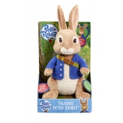 Ex-Display Peter Rabbit Talking Plush Used - Like New