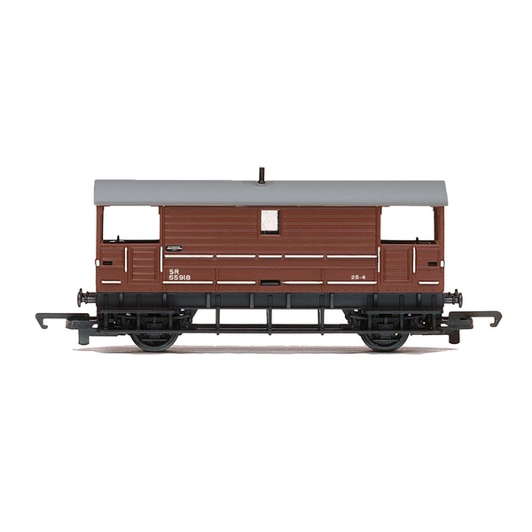 Hornby 20T Goods Brake Van Southern Railway 55918 Era 3 Model Train