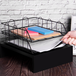 A4 Wire Filing Trays | M&W Black - Image 2