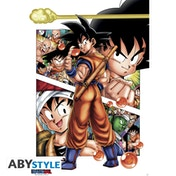 Dragon Ball - Db/ Son Goku Story Maxi Poster