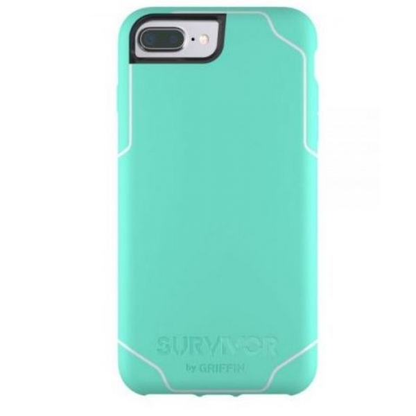 Griffin Survivor Journey Case for Apple iPhone 7 /6s /6  in Mint/White