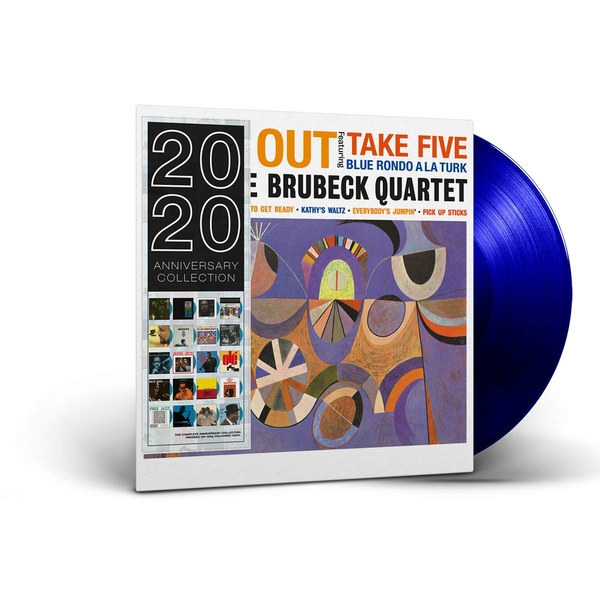 Dave Brubeck Quartet - Time Out Blue  Vinyl