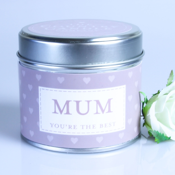 Mum (Sentiment Collection) Tin Candle