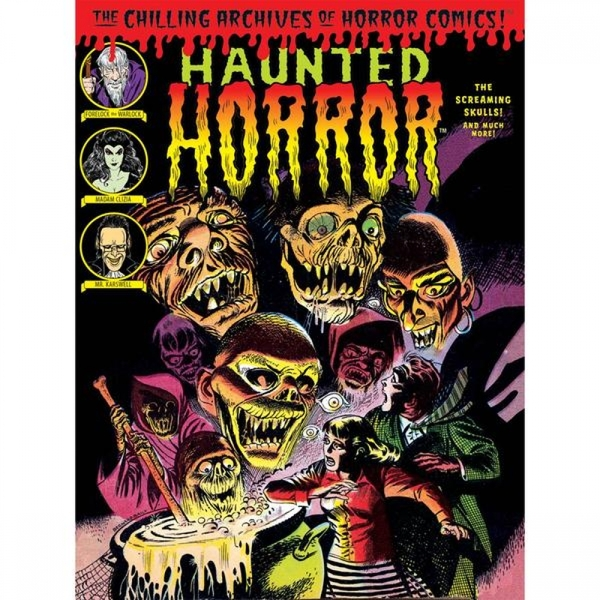 Haunted Horror  Volume 5: Screaming Skulls Hardcover
