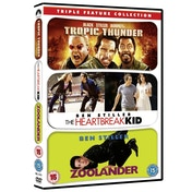 Tropic Thunder / Zoolander / The Heartbreak Kid DVD