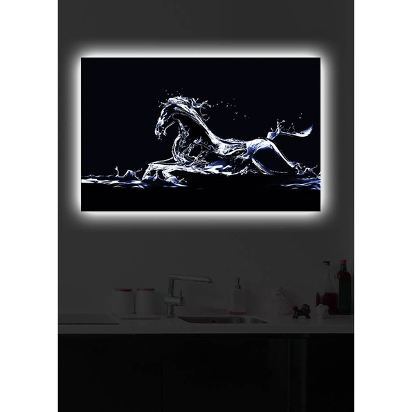 4570DACT-22 Multicolor Decorative Led Lighted Canvas Painting