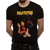 Pulp Fiction - Uma Men's Large T-Shirt - Black