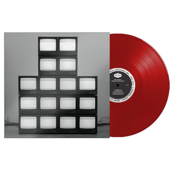 Rise Against - Nowhere Generation Limited Edition Transparent Red Vinyl