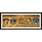 Harry Potter Houses Collector Print