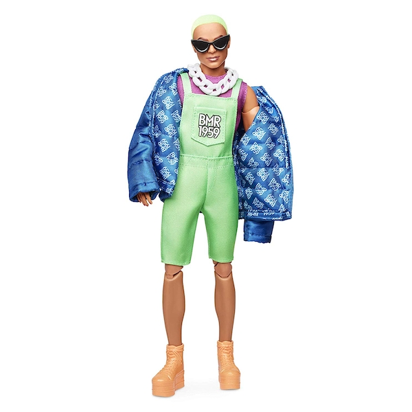 Barbie BMR1959 Collection Ken Doll with Neon Hair