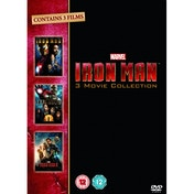 Iron Man 1-3 Complete Collection DVD