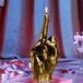 Gold Hand FCK The Finger Candle - Image 3