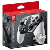 Ex-Display Nintendo Switch Super Smash Bros Edition Pro Controller Used - Like New
