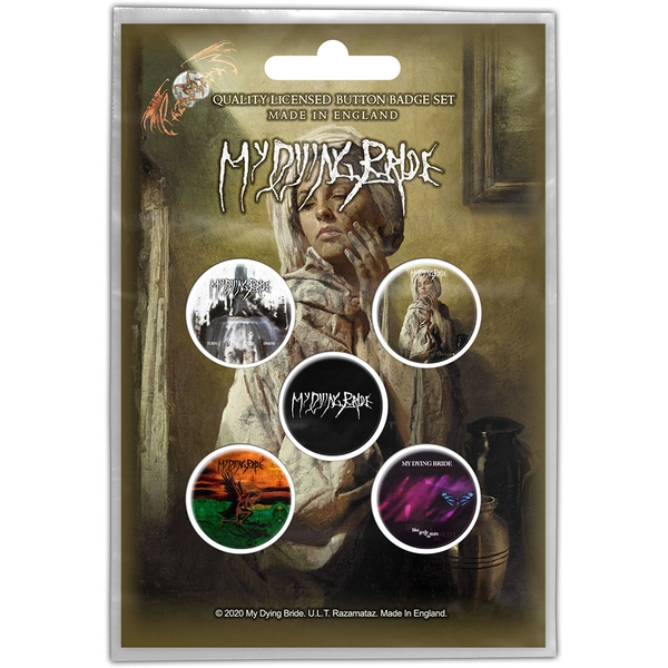 My Dying Bride - The Ghost of Orion Button Badge Pack
