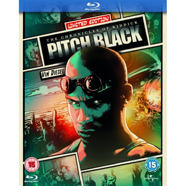 Reel Heroes Edition Pitch Black Blu-ray