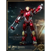 Hot Toys Marvel IronMan 3 Red Snapper Mark XXXV Armour Power Pose Figure