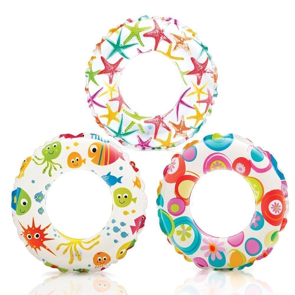 "Bauer - Lively Print 20"" Swim Ring (Pack of 3)"