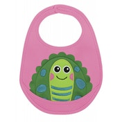 Little Helper Oops Crumb Catcher Bib with Super Cute 3D Turtle Appliqué