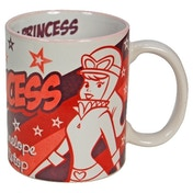 MugBug Penelope Pitstop Pink Princess Logo Novelty Coffee/Tea Mug