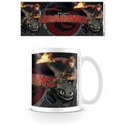 Dragons Toothless And Hiccup Mug