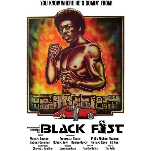 Black Fist DVD