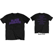 Black Sabbath - Masters of Reality Album Men's X-Large T-Shirt - Black