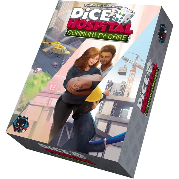 Dice Hospital: Community Care Expansion Board Game