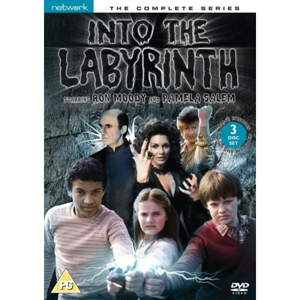 Into The Labyrinth - Series 1-3 - Complete DVD 3-Disc Set