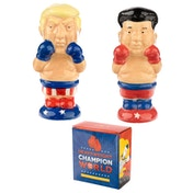 Boxer President and Rocket Man Salt and Pepper