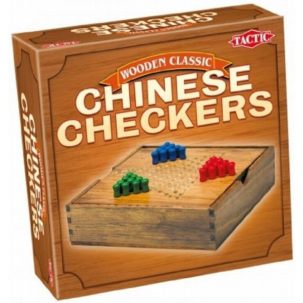 Chinese Checkers - Wooden Classic Game - Travel Board Game