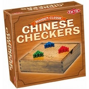 Chinese Checkers - Wooden Classic Game - Travel