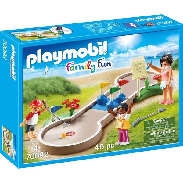 Playmobil Family Fun Campsite Mini-golf