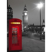 Clementoni Black and White London High Quality Collection Jigsaw Puzzle (500 Piece)